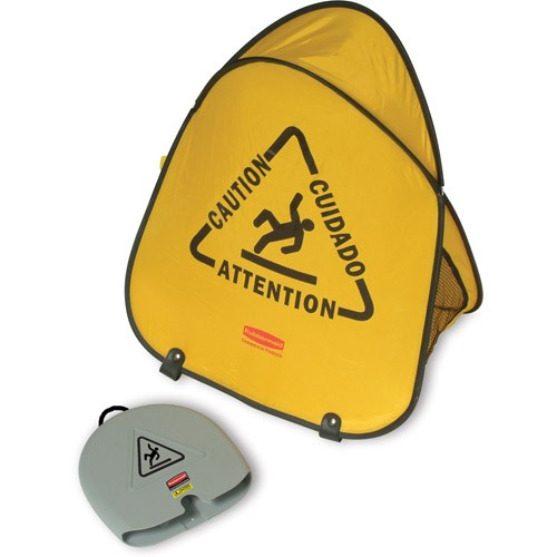 Folding Safety Cone,Yellow