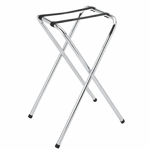 Thunder Group SLTS001 Chrome Plated Tray Stand