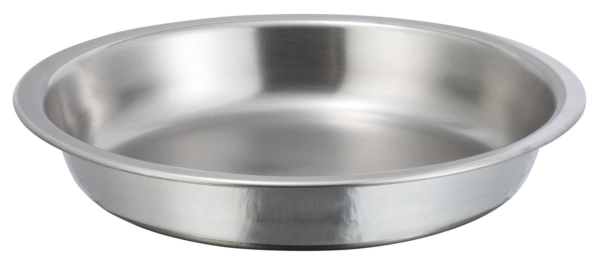 Winco 203-FP Food Pan for 4 Qt. Gold Accented Malibu Round Chafer 203