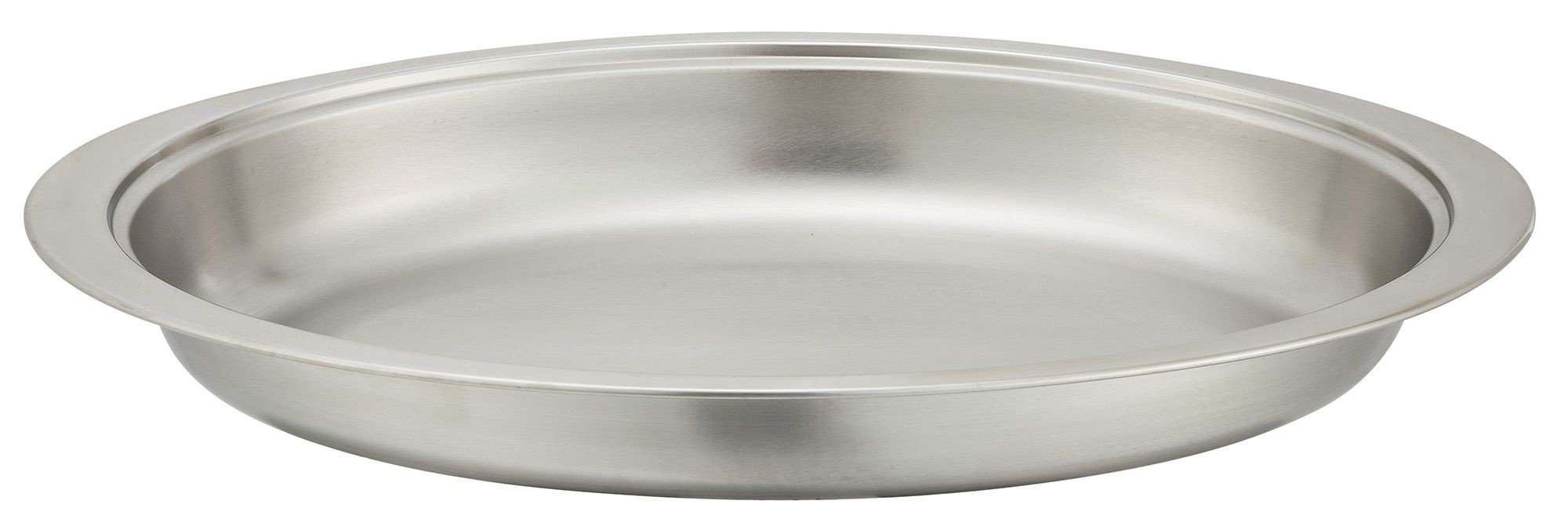 Winco 202-FP Food Pan for 6 Qt. Gold-Accented Malibu Oval Chafer 202