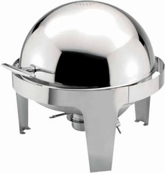 Food Pan for 6 Qt Madison Round Roll-Top Chafer 602