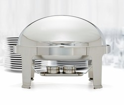 Food Pan for 8 Qt. Madison Oval Roll-Top Chafer (Model 603)