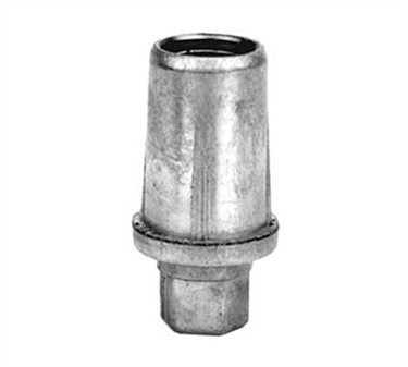 Franklin Machine Products  119-1054 Gray Plastic Bullet Foot For 1 5/8