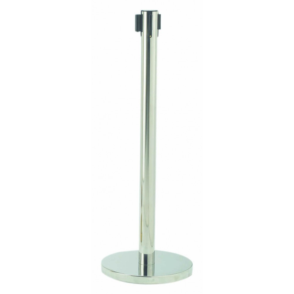 Form-A-Line Retractable Belt Stanchion-Satin (Belt Included)