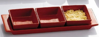 Fortune Pattern Rectangular Tray, 12