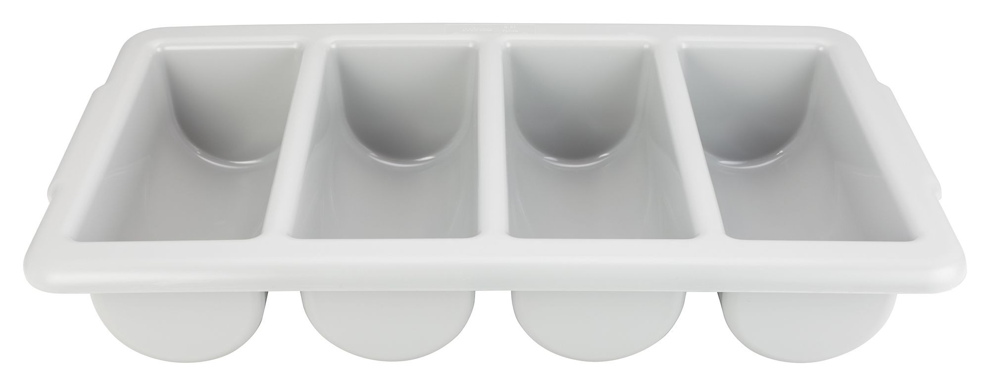 Winco PL-4B Four-Compartment Cutlery Bin