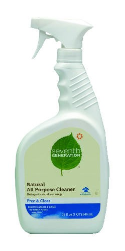 Free & Clear Natural All Purpose Cleaner, 32 Oz. Spray
