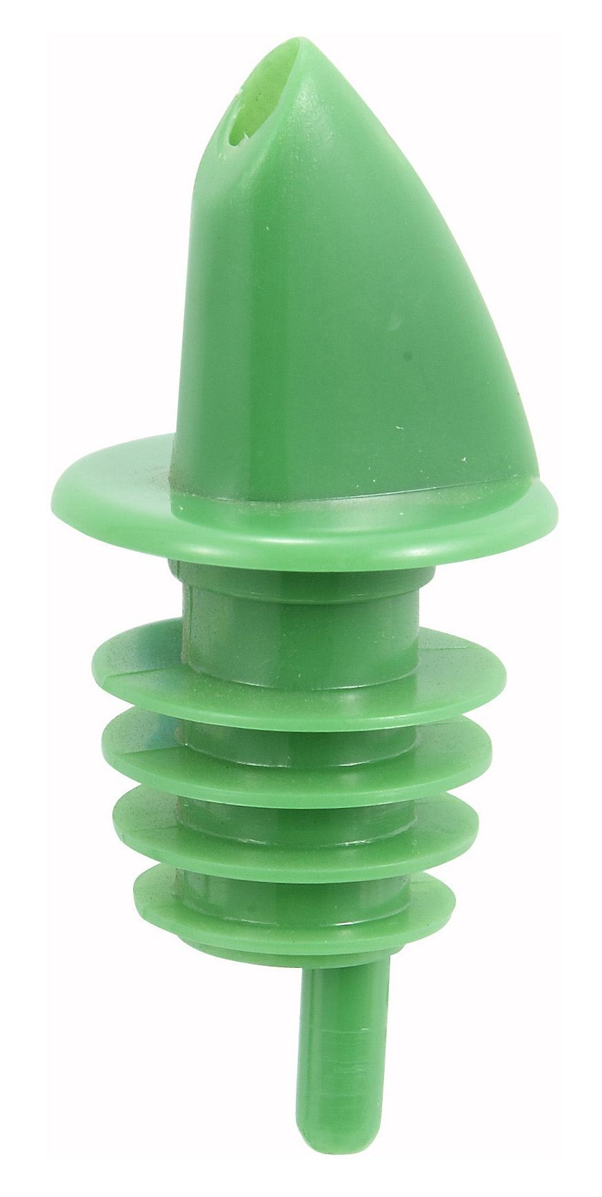 Winco PPR-2G Free Flow Pourer, Green