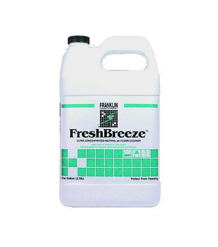 Fresh Breeze Concentrated Neutral Cleaner, Pleasant Scent, 1 Gallon
