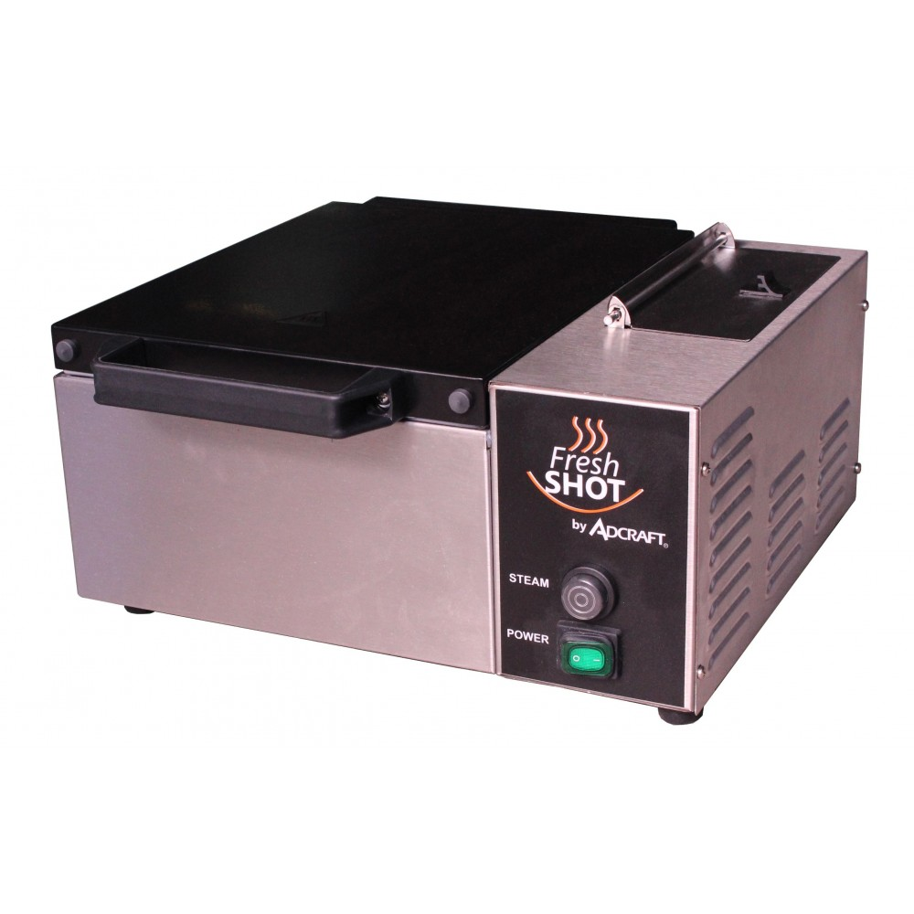 Adcraft CTS-1800W Fresh Shot Countertop Steamer, 120V