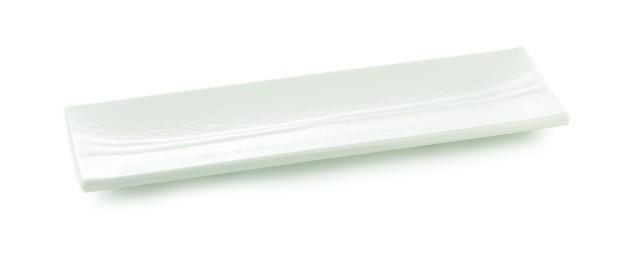 "TableCraft M206 Frostone Rectangular Melamine Dish 20"" x 6"""