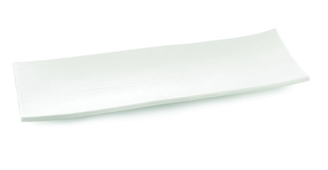 Frostone Collection Rectangular Melamine Tray - 27-1/2
