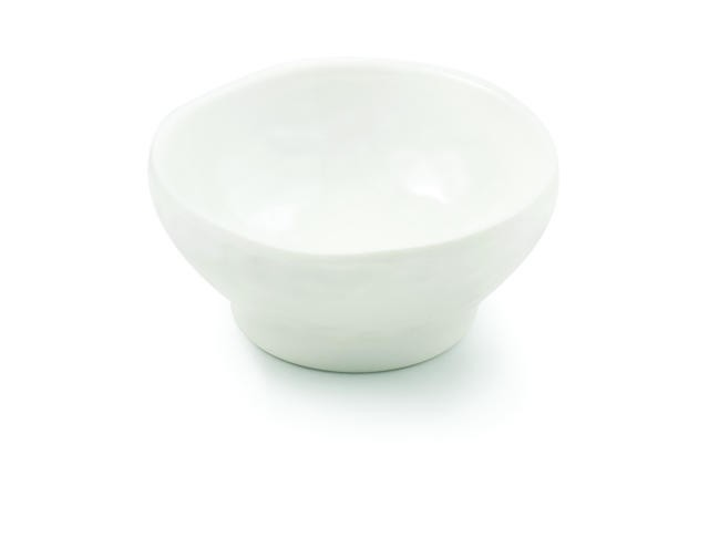 Frostone Collection Round Melamine Sauce Bowl - 3-1/4