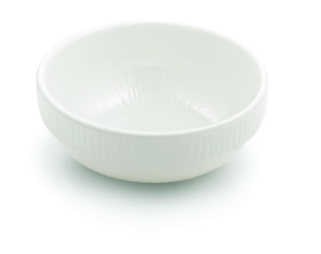 Frostone Collection Round Sauce Melamine Bowl - 4-3/4