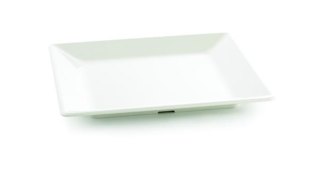 Frostone Collection Square Melamine Tray - 16-3/4