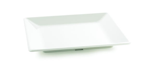 TableCraft M1919 Frostone Square Melamine Tray 18-3/4""