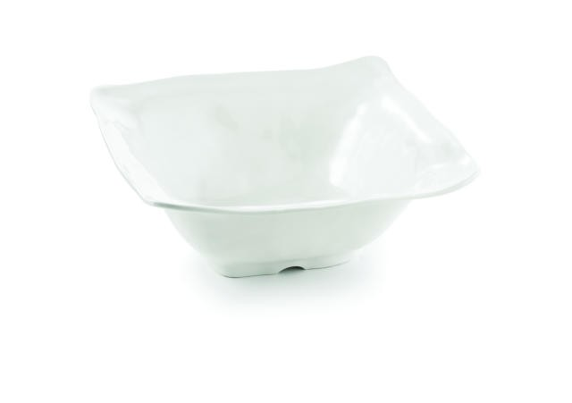 Frostone Collection Square Melamine Bowl - 12-1/2