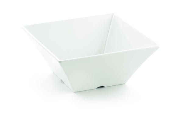 TableCraft MB94 Frostone Square Melamine Bowl x 4""