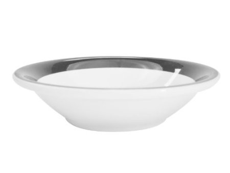 CAC China R-11-BLACK Rainbow Black Fruit Bowl 4.75 oz.