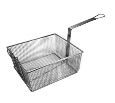 "Franklin Machine Products  225-1033 Fry Basket with Full Front Hook 10"" x 7-3/4"""