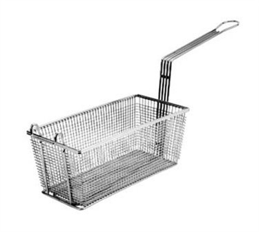 "Franklin Machine Products  225-1010 Fry Basket with Twin Front Hooks 13-1/4"" x 5-3/4"""