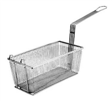 """Franklin Machine Products  225-1011 Fry Basket with Twin Front Hooks 8-3/4"""" x 4-1/8"""""""