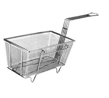 "Franklin Machine Products  225-1009 Fry Basket with Twin Left Hooks/Feet 12-1/8"" x 6-3/8"""