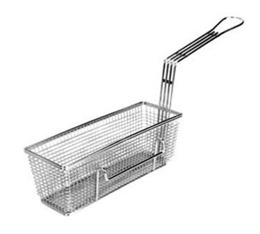 "Franklin Machine Products  225-1012 Fry Basket with Twin Left Hooks 11-1/4"" x 4"""