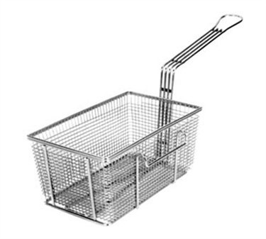 "Franklin Machine Products  225-1014 Fry Basket with Twin Left Hooks 10-3/4"" x 6-3/4"""
