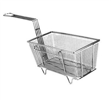 Fry Basket With Twin Right Hooks/Feet - 12-1/8