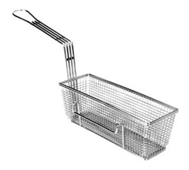 "Franklin Machine Products  225-1013 Fry Basket with Twin Right Hooks 11-1/4"" x 4"""