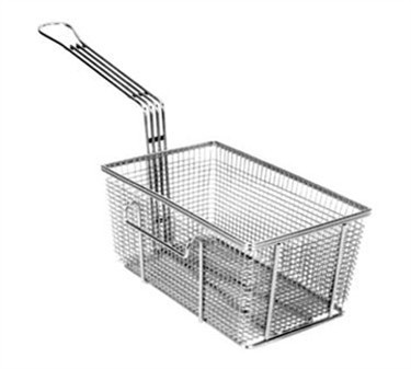 "Franklin Machine Products  225-1015 Fry Basket with Twin Right Hooks 10-3/4"" x 6-3/4"""