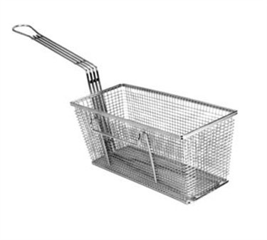 Fry Basket With Twin Right Hooks - 13-1/4