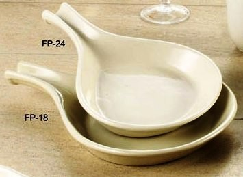 Fry Pan Server 24 Oz American White - American White Wide Rim China