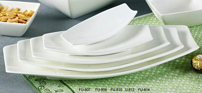 """Yanco FU-808 Fuji 8"""" x 4"""" Oval Platter"""
