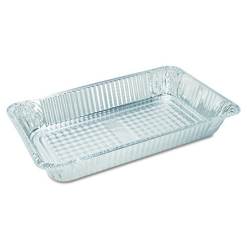 Full Aluminum Foil Steam Table Pan, 3-1/8