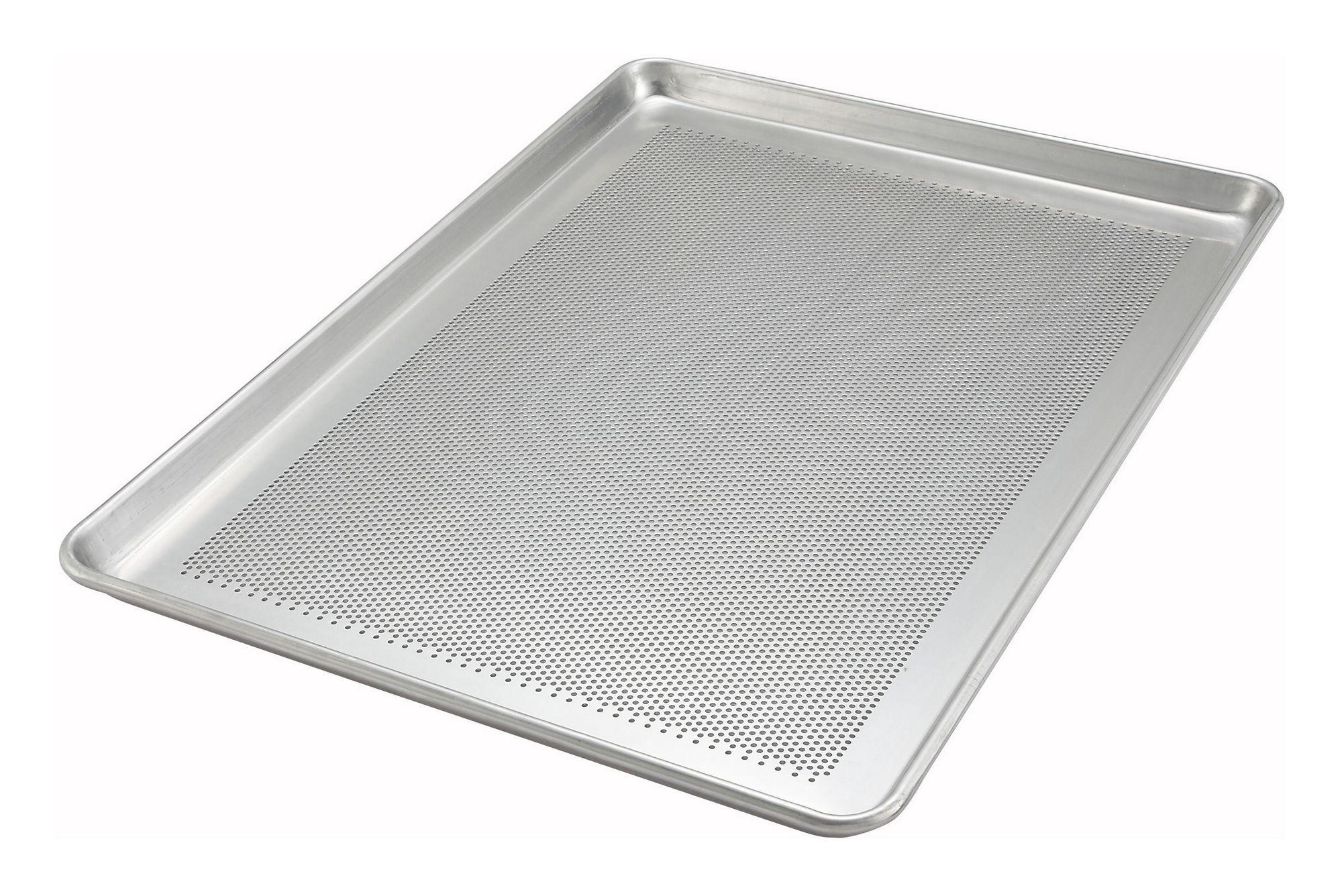 "Winco ALXP-1826P Full Size Perforated Aluminum Sheet Pan 18"" x 26"""