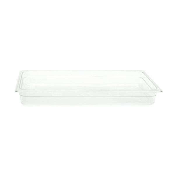 "Thunder Group PLPA8002 Full Size 2 1/2"" Deep Plastic Food Pan"