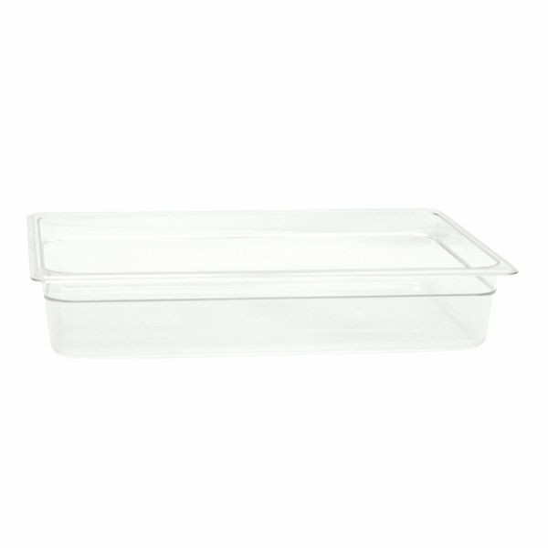 "Thunder Group PLPA8004 Full Size 4"" Deep Plastic Food Pan"