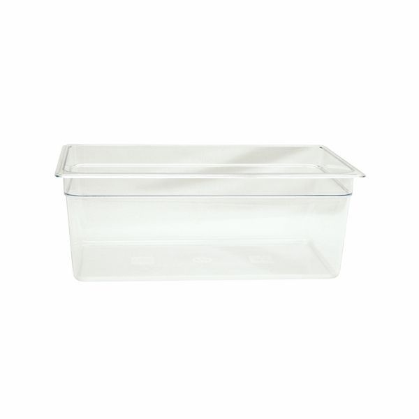"Thunder Group PLPA8008 Full Size 8"" Deep Plastic Food Pan"