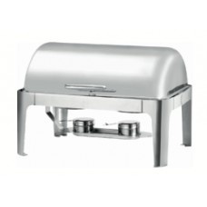 Full Size 8 Quart Roll top Chafing Dish