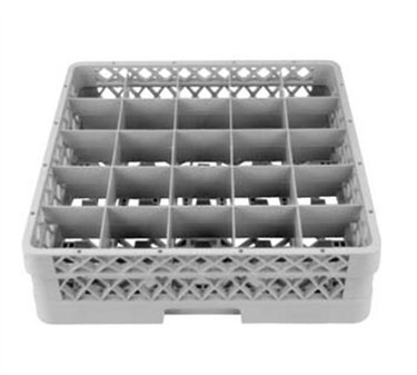 Full Size Durable Plastic Rack For 25 Glasses