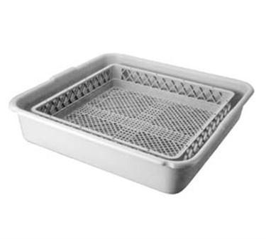 Franklin Machine Products  133-1286 Full Size Plastic Dishwasher Rack Soak Tub