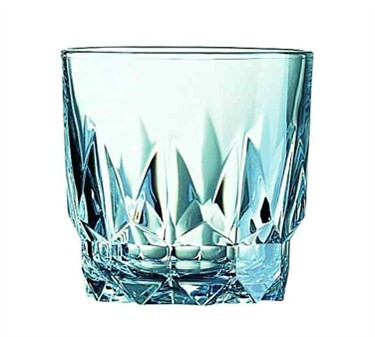 Fully Tempered 10-1/2 Oz. Artic Old Fashioned Glass - 3-1/2