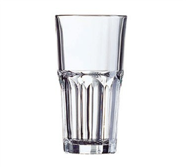 Fully Tempered 10-1/2 Oz. Stacking Granite Beverage Glass - 5-1/2