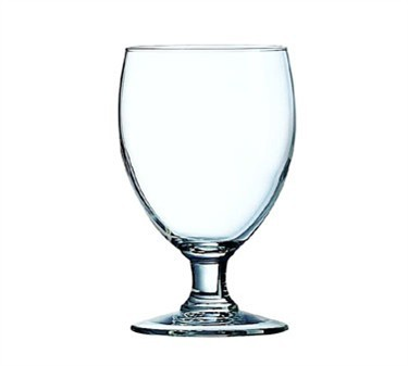 Fully Tempered 11-1/2 Oz. Excalibur Banquet Glass Goblet - 5-1/4
