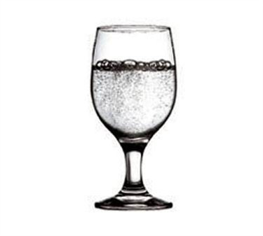Fully Tempered 11-1/4 Oz. Capri Elemental Glass Goblet - 6-1/4