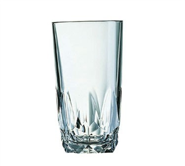 Fully Tempered 12-1/2 Oz. Artic Beverage Glass - 5-3/8