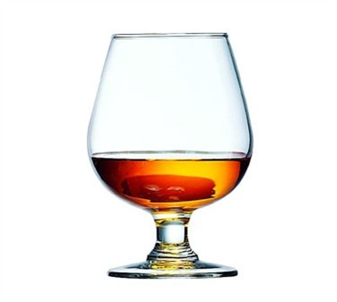 Fully Tempered 12 Oz. Excalibur Brandy Glass - 5