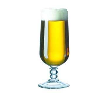 Fully Tempered 12 Oz. Siena Pilsner Glass - 7-1/6